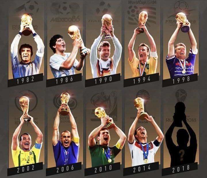 Incroyable le vainqueur de la coupe du monde 2018 est d j connu coups francs - Vainqueur coupe du monde football ...