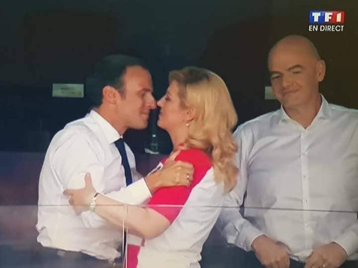 Voici La Vraie Vie De La Presidente De La Croatie Que Macron Envie