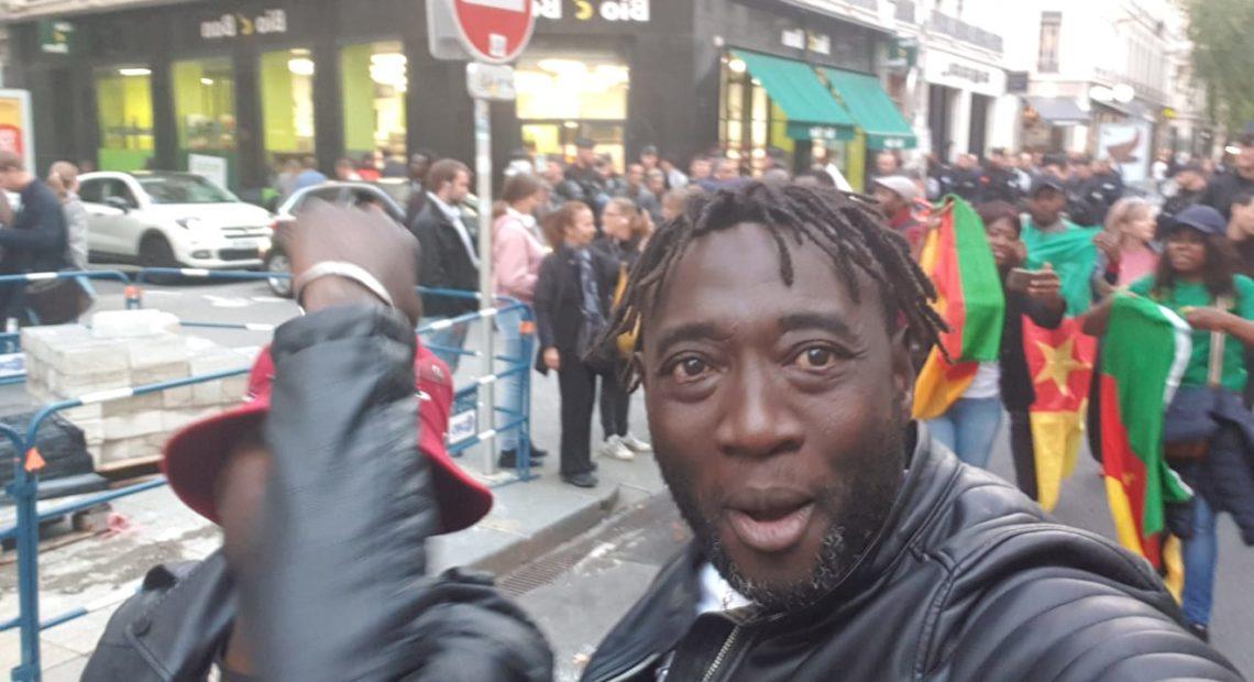 """Résultat de recherche d'images pour """"image de la manifestation contre paul biya à lyon"""""""